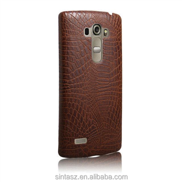 For LG G4 case 2016 Luxury product lifelike crocodile snake horse skin grain PU leather phone case shell cover