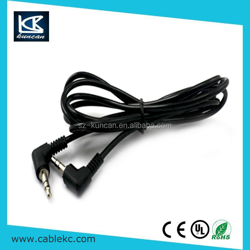 wholesale 8 pin l shape rca led display dvd gay av video audio cable