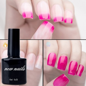 Newnail temperature change gel nail polish color changing nail polish