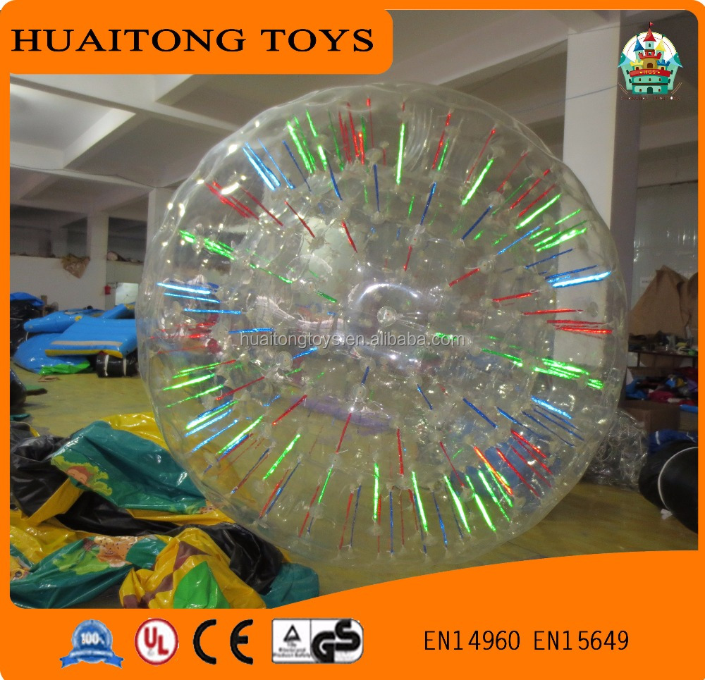 popular toys for kids/adults 2.6m flight giant inflatable zorb ball
