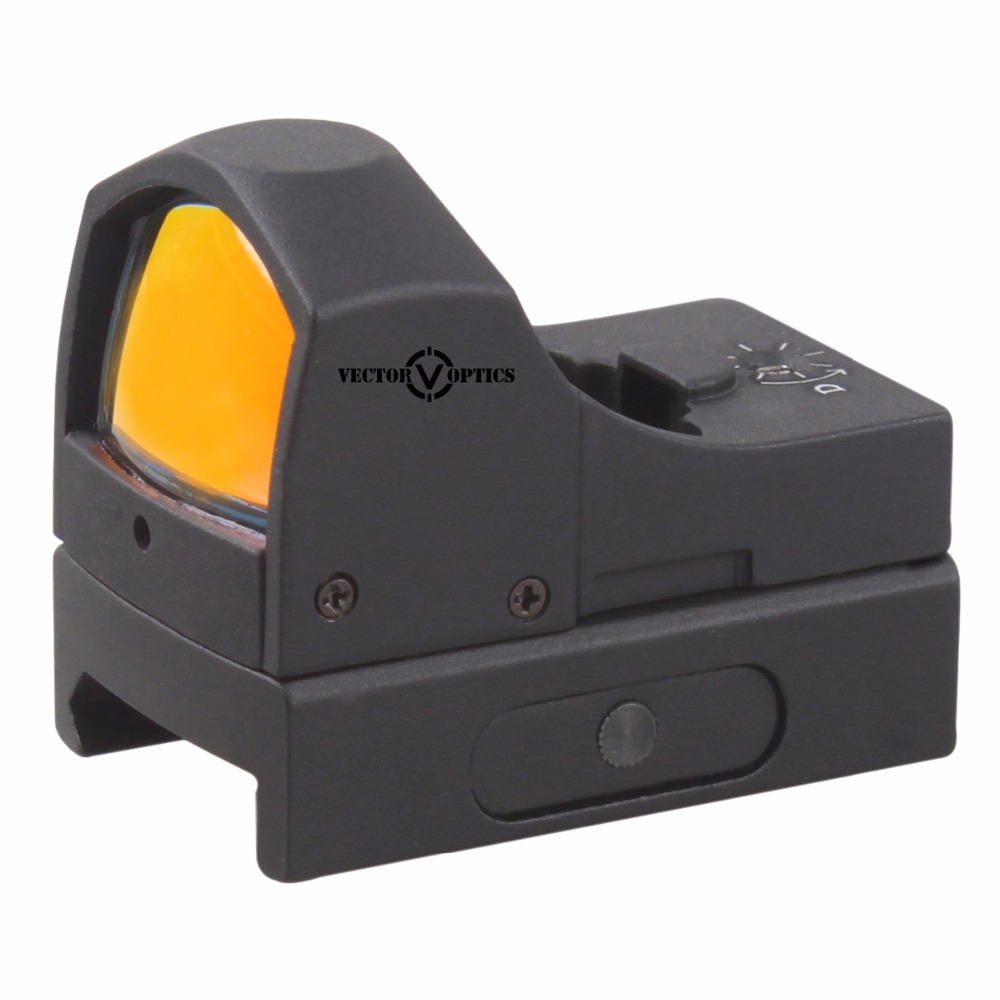 Vector Optics Sphinx 1x22 Auto Brightness Super Compact Red Dot Scope Doctor 3 MOA Reflex Sight fits Pistol