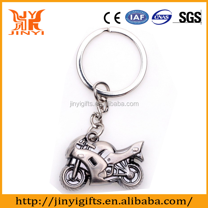 Factory customed souvenir Motorcycle style cheap keychains