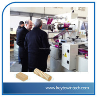 Biscuits on-edge packaging machine
