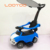 New model plastic pp sliding box push boy foot pedal toy rider on magic baby mega car with roof