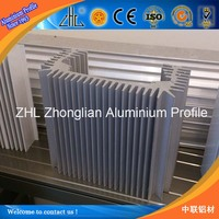 Good! Widly use aluminum extruded heat sink that extruded anodized aluminum radiator, types of anodized aluminium profile
