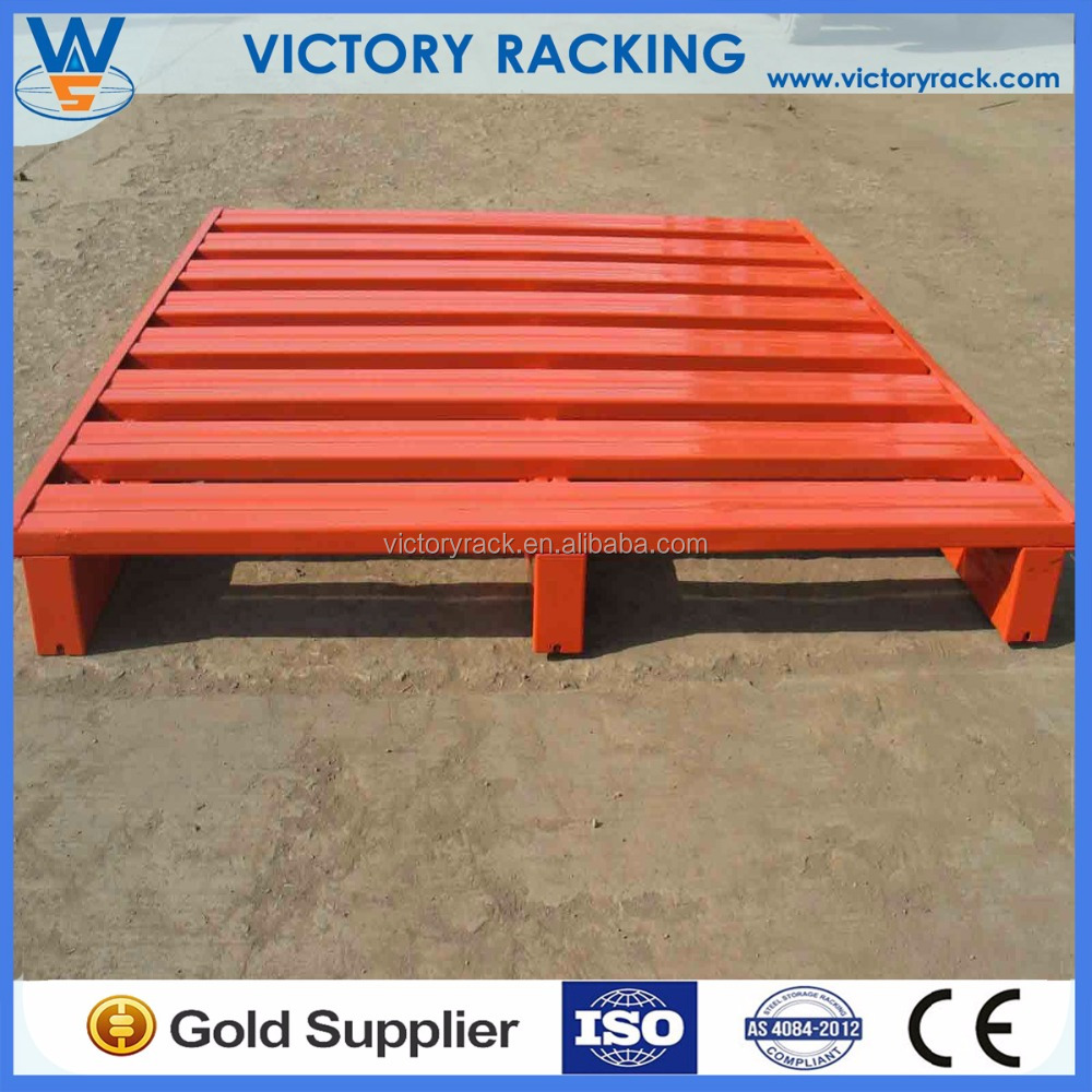 High Quality Widely Used Cheap Hot Sale Euro Steel Pallet For Warehouse Racking Use