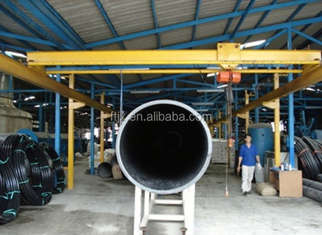 HDPE Large Diameter Hollow Wall Winding Pipe Production Line/HDPE pipe machine