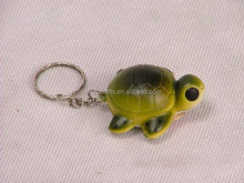 Sea turtle Stress Toy PU squeeze keychian