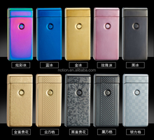 Top selling JL-307 dual arc electric lighter 10 colors wholesaler choice