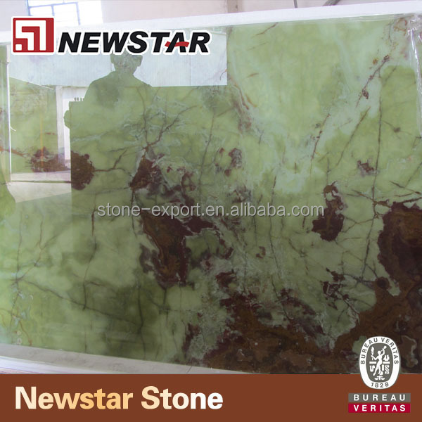 Onyx marble slabs,dark Green onyx,backlit onyx glass panel