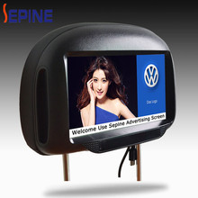 Digital Android 3G 9 inch lcd headrest taxi touch screen advertising
