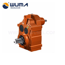 Single Worm Reduction Gearbox Elevator Gear Box Transmission Motor