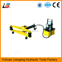 High Quality Electric Hydraulic Pipe Bender HHW-3D Steel Pipe Bending Machine Power Tools Exhaust Conduit Bender for Sale