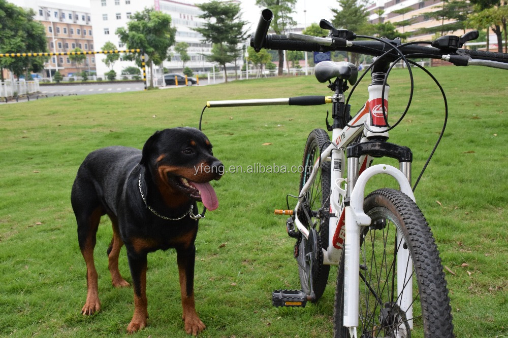 Hands Free Dog Bicycle Exerciser Leash Model with 550-lbs Pull Strength Leash Military Grade
