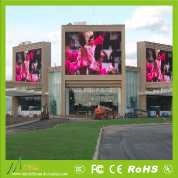 Fixed wall mounted video outdoor led display price