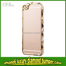 fashion cell phone case for iphone 6 4.7 luxury diamond case