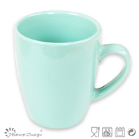 Blue solid color unbreakable coffee mugs