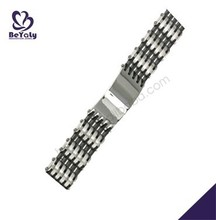 China Manufacturer 2015 stainless steel tourmaline bracelet