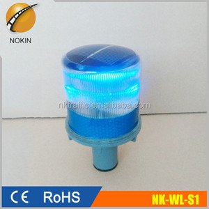 solar led traffic safety Blinker Beacon cone warning light