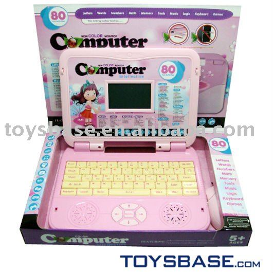 Language learning machine kids learning laptop