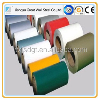Metal Sheet PPGI Sheet/Plate/Strip in coil our company has developed into prepainted galvanized steel coil China manufacturer