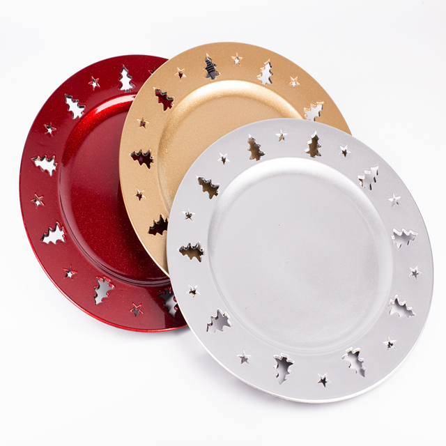christmas tree design plastic charger plates buy christmas designplastic charger platesxmas product on alibabacom - Christmas Charger Plates