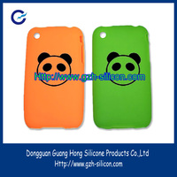 Silicone cute cell phone case for mobile