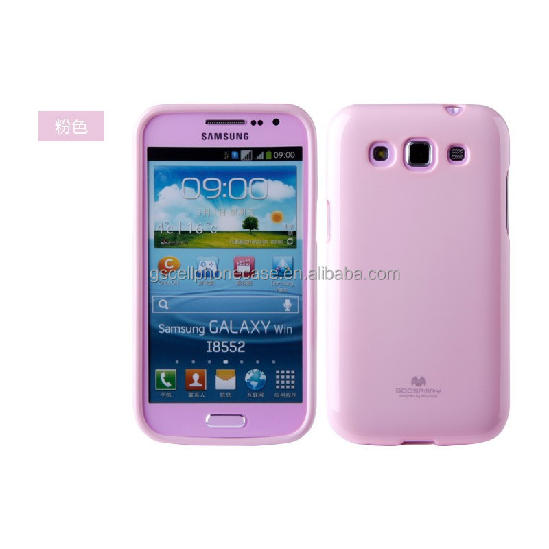 Mercury Goospery Korea Jelly Phone Case For Samsung Galaxy Win I8552