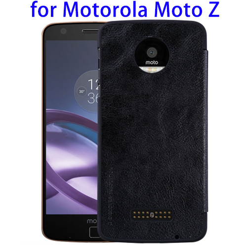 Nillkin PU Leather Phone Back Cover Cases for Moto Z