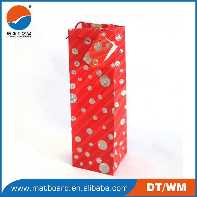 2015 Hot Selling High Quality Gold Organza Gift Bags For Wine