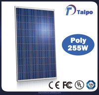 High quality over stock 255w solar panel
