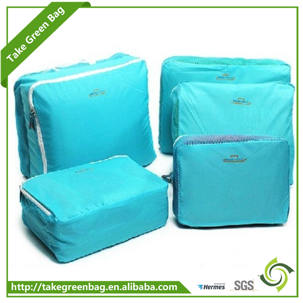 2017 New design travelling clothes storage bags for students