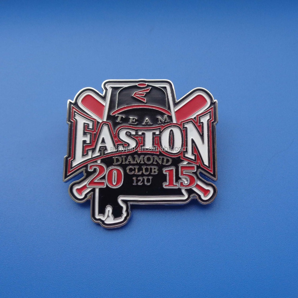 Baseball Match Easton Diamond Club Souvneir Soft Enamel Badge Pin