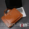 Fashionable PU leather BUBM BROWN Waterproof solid color tablet computer sleeve case