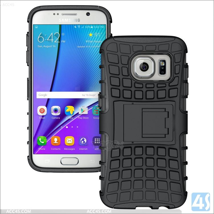 Hybrid Shockproof Heavy Duty Full Body Kickstand Case For Samsung Galaxy S7