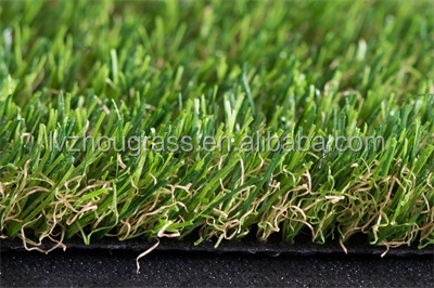 free sample LQ40-35-168 autumn 35mm natural grass turf for landscape