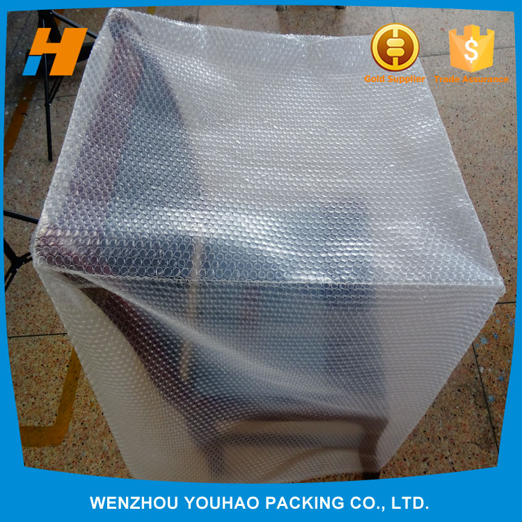 manufacturer pearl poly film bubble bag with different shape