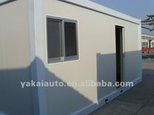 China 20' prefab container house ,wild camping house
