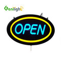Electronic Acrylic Led Letters Decorative Custom Made Open Neon Sign