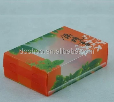 Plastic Tea Packing Box