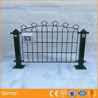 Cheap outdoor flexible plastic antique vegetable artificial garden fencing (China manufacturer ISO9001)