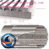 Anping HENGYUAN stainless steel wedge wire screen/filter mesh