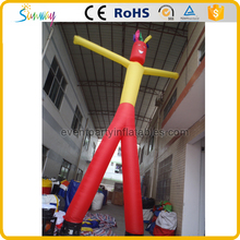 Most Popular Two Legs Inflatable Air Sky Dancers Inflatable Wave Man
