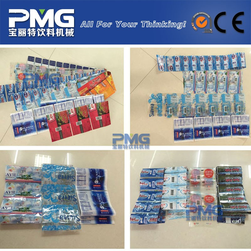 Gold supplier mineral water bottle printing label / pvc shrink sleeve
