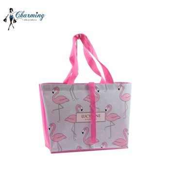 Most popular special purpose bags ladder-shaped pp non woven shopping bags