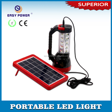 New design outdoor solar power rechargeable emergency led lantern for car