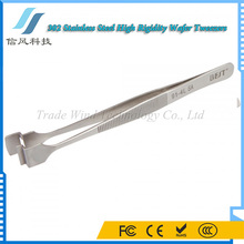 BEST-91-4L SA 302 Stainless Steel Personalized Tweezers Wafer Tweezers