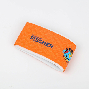 Custom color rubber promotional ski tie