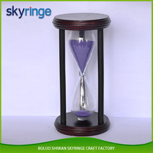 1 Hour Colorful Wood Sand Timer Clock Hourglass