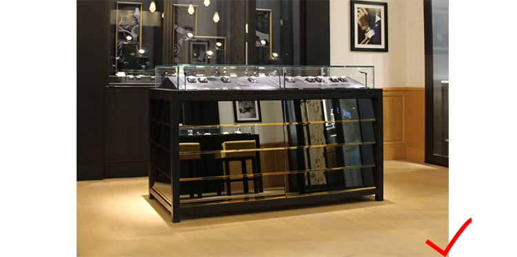 RCF1034 Cosmetic display showcase store furniture for shop decoration